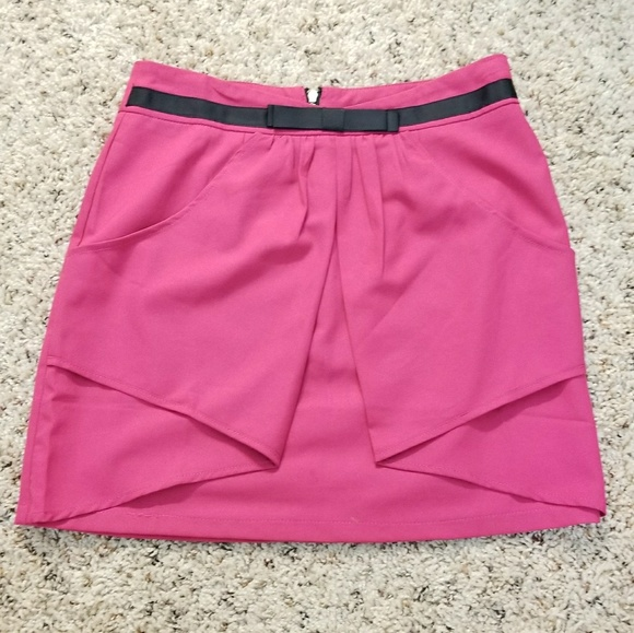 Rampage Dresses & Skirts - 🔥2 for $20🔥  NWOT HOT PINK MINI SKIRT